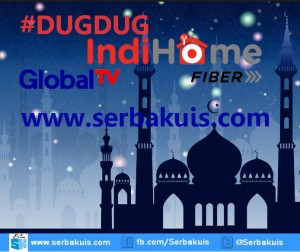 Kuis Dug Dug IndiHome Global TV Berhadiah 1 Juta per Episode