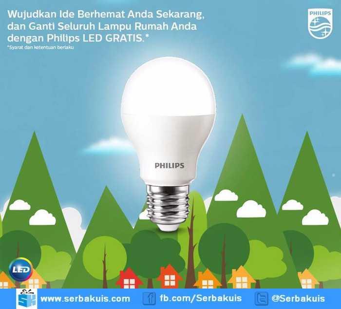 Kuis Hadiah Lebaran Berhadiah 50 Philips LED Setiap Periode