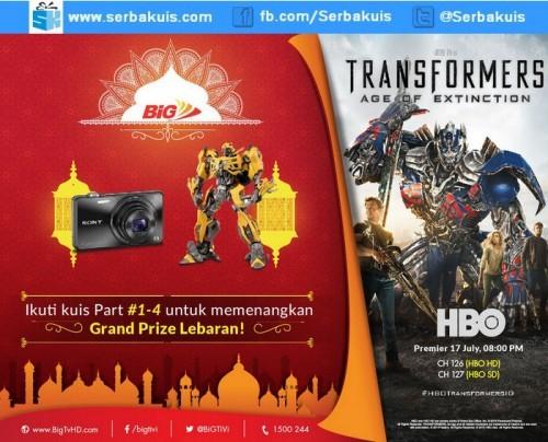 Kuis Ramadan BiG TV Berhadiah Sony Cyber Shot Digital Camera