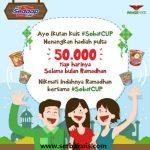 Kuis Sobat CUP Berhadiah Pulsa 50.000 Setiap Hari