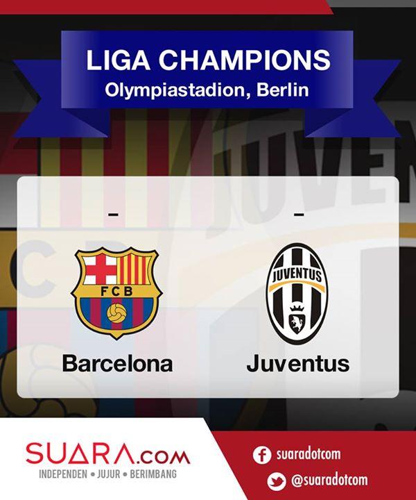 Kuis Tebak Skor Juventus vs Barcelona-thumb
