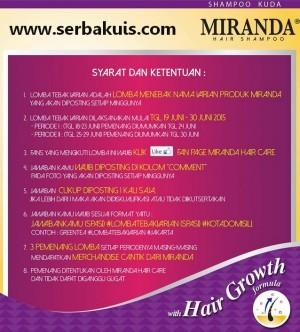Kuis Tebak Varian Miranda Berhadiah 6 Merchandise Cantik