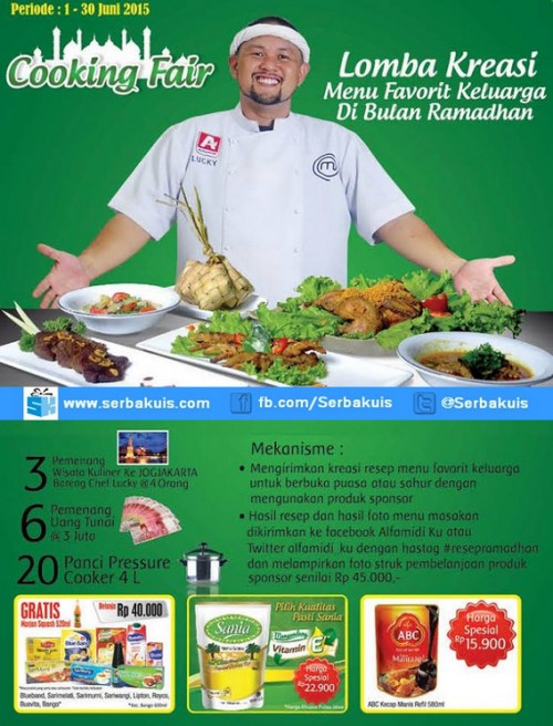 Lomba Kreasi Menu Favorit Keluarga di Bulan Ramadhan