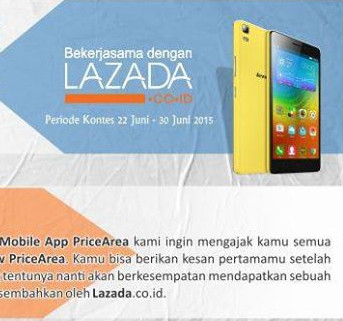PriceArea Review Contest Berhadiah Lenovo A7000