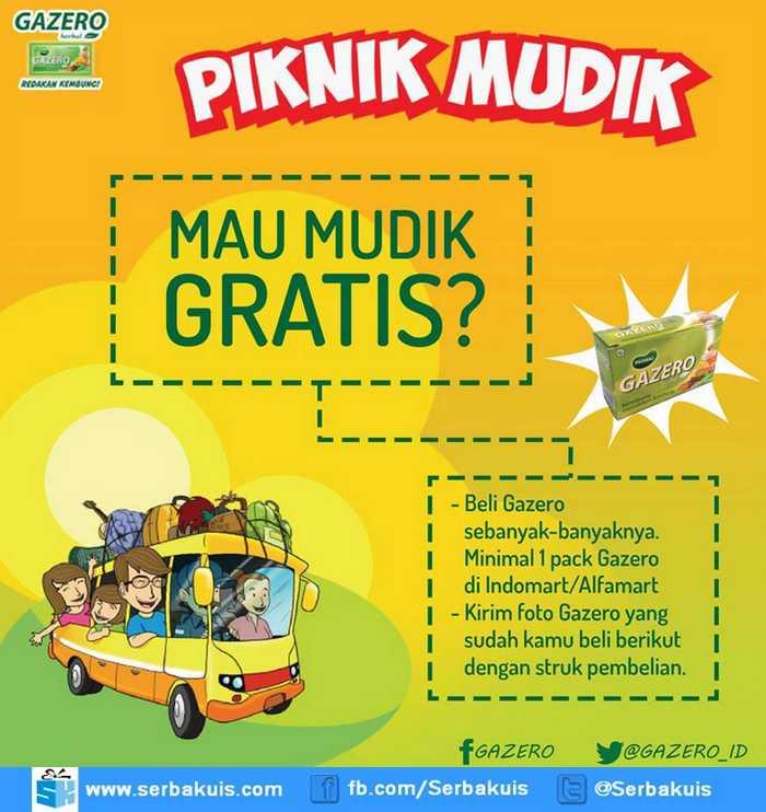 Promo Piknik Mudik Berhadiah Mudik Gratis Tujuan Semarang Jogja