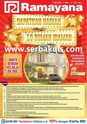 Undian Ramayana Berhadiah 10 Rumah Senilai Total 2,5 Miliar