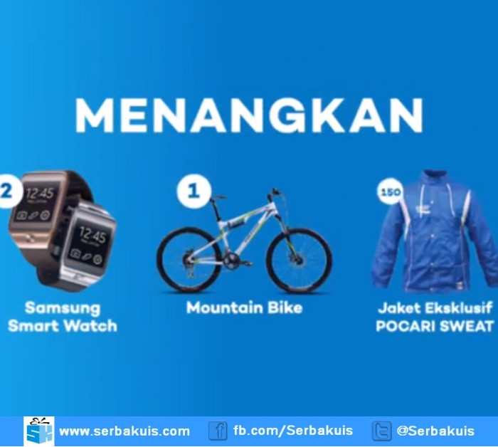 Undian Pocari Sweat Berhadiah 2 Samsung Smart Watch
