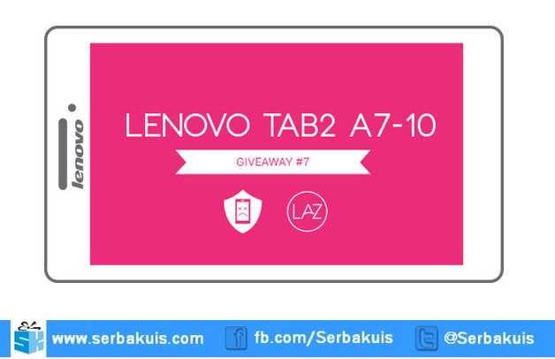 Giveaway AduGADGET Berhadiah 2 Lenovo Tab 2 A7-10