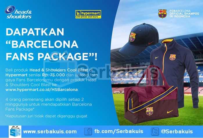 Kontes Foto Berhadiah 4 Paket Barcelona Fans Original