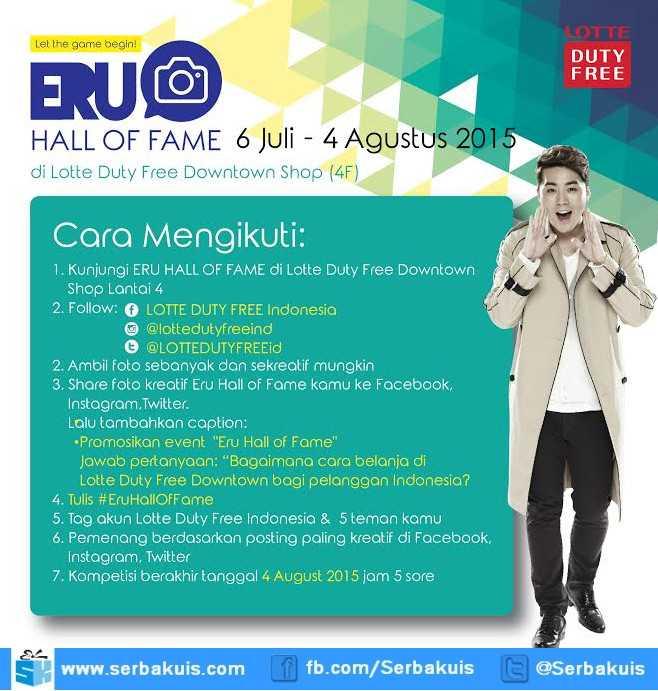 Kontes Foto Eru Hall Of Fame Berhadiah 4 Kostum Asli Eru