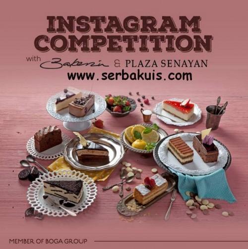 Kontes Foto Instagram Berhadiah 3 Paket Makan Kue di Bakerzin