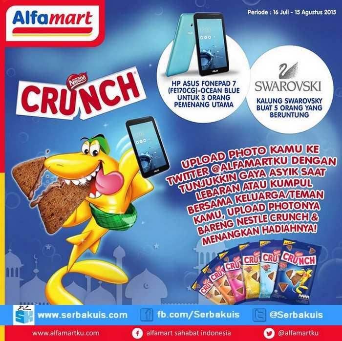 Kontes Foto Nestle Crunch Berhadiah 3 ASUS Fonepad 7