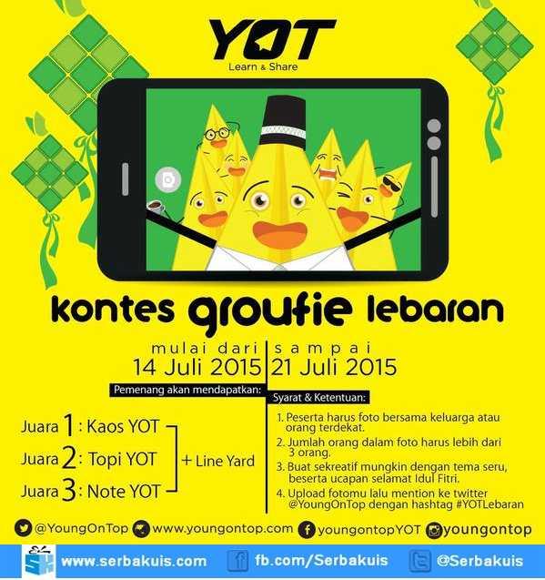 Kontes Groufie Lebaran YOT Berhadiah Merchandise