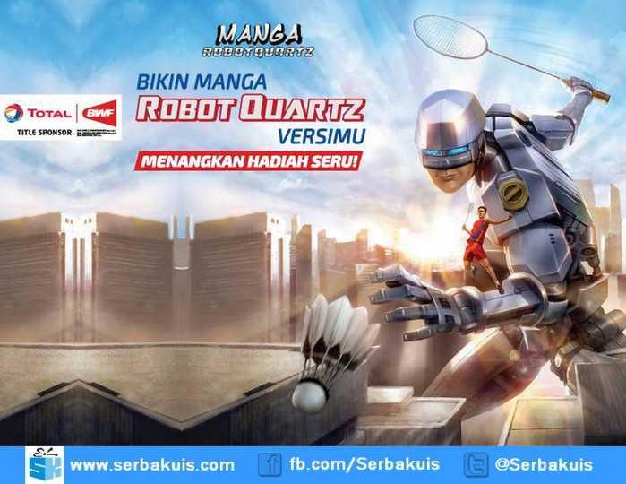 Kontes Manga RobotQuartz BWF 2015 Berhadiah iPad Mini