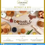 Kuis Retweet & Win Berhadiah 10 Box Dorayaki