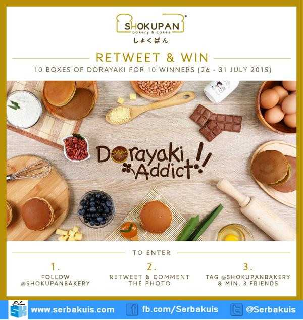 Kuis Retweet & Win Berhadiah 10 Box Dorayaki