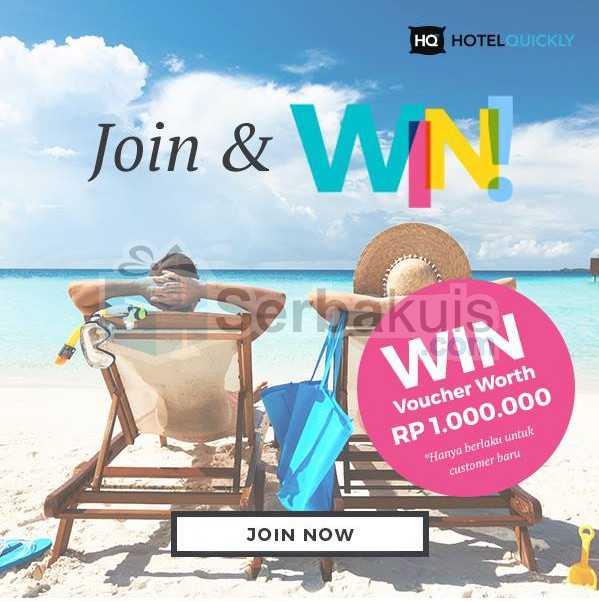 Moxy Join & WIN Berhadiah Voucher Hotel Quickly 1 Juta