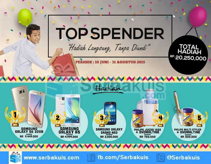 Promo Lakupon Top Spender Berhadiah SAMSUNG Galaxy S6-compressed