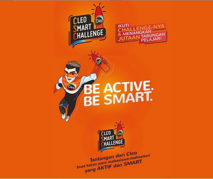 Cleo Smart Challenge Berhadiah Ipod Tabungan Harddisk & Hadiah Menarik Lainnya