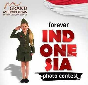 Kontes Foto Forever Indonesia Grand Metropolitan Berhadiah Menarik