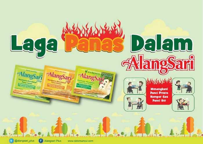 Kontes Foto Laga Panas Dalam AlangSari Plus Berhadiah Kitchen Set