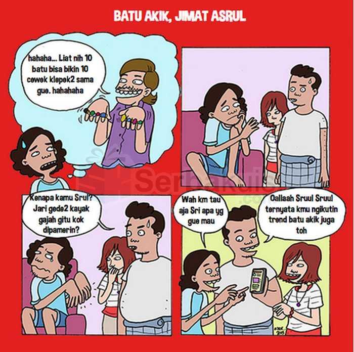Kontes Komik ASik Berhadiah Pulsa Setiap Minggu