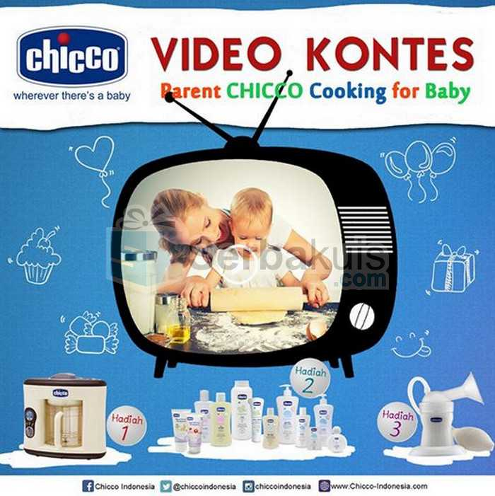Kontes Video Cooking for Baby Hadiah Pure Steam Cooker