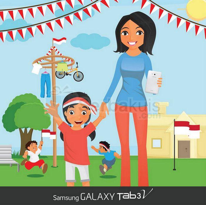 Kuis Solusi Berhadiah SAMSUNG Galaxy Tab 3V