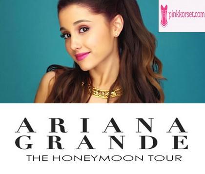 Kuis pinkkorset.com Berhadiah Tiket konser Ariana grande