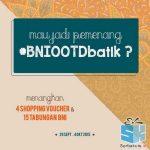 Kontes Foto Batik BNI Berhadiah 15 Tabungan & Voucher
