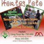 Kontes Foto Berbagi Itu Indah Berhadiah Total 1 Juta