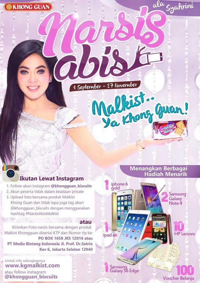 Kontes Foto khongguan Malkist Berhadiah iphone 6 & Ipad