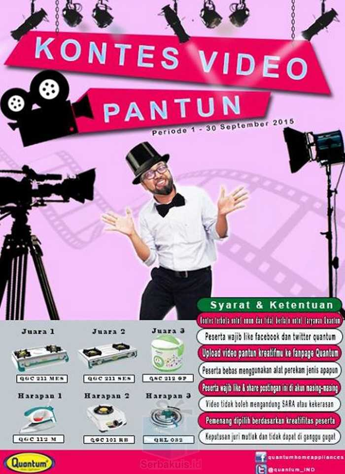 Kontes Video Pantun Quantum Berhadiah Kompor & Home Appliances