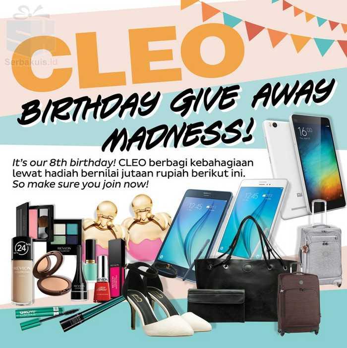 Kuis Cleo Berhadiah Samsung Galaxy Tab A Xiaomi Mi 4I & Banyak Lainnya