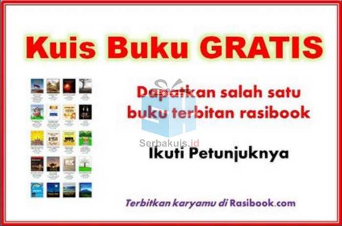 Kuis Rasibook Berhadiah Buku
