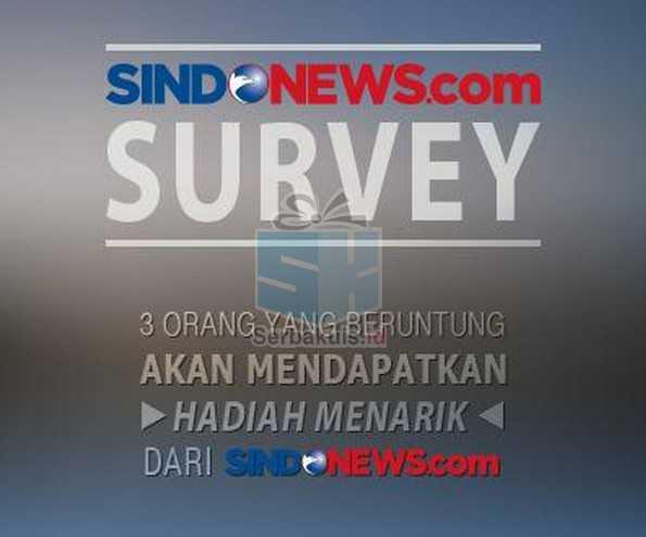 Kuis Survey Online Sindonews Berhadiah Menarik