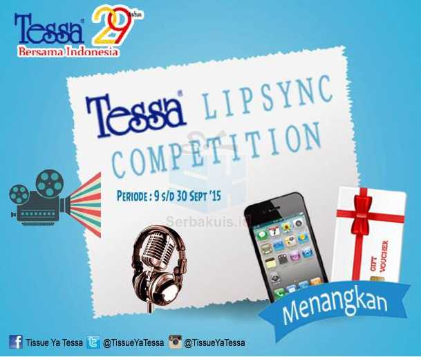Tessa Lipsync Contest Berhadiah Smartphone & Voucher Belanja