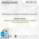 Kontes Berbagi Kecantikan Biokos Hadiah Produk Total 2,5 Juta