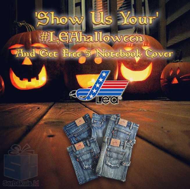 Kontes Foto Halloween Berhadiah 5 Notebook Cover Lea Jeans