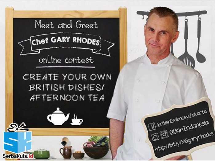 Kontes Foto Masakan Berhadiah Meet & Greet Chef GARY RHODES