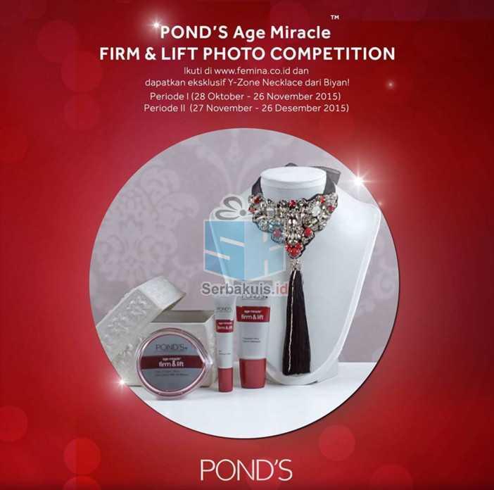 Kontes Pond's Age Miracle Firm & Lift Berhadiah Voucher MAP 10 Juta