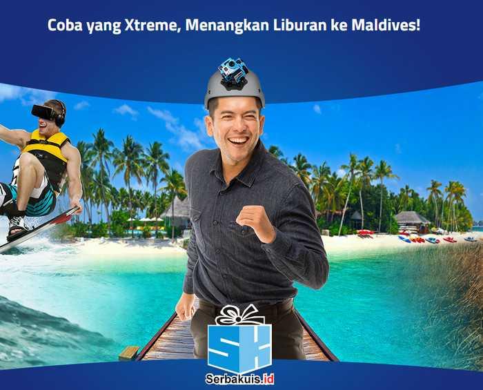 Kontes XL Xtreme 360º Berhadiah Liburan ke Maldives-