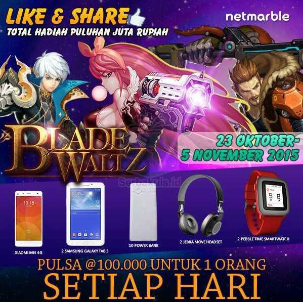 Kuis Like & Share Blade Waltz Indonesia