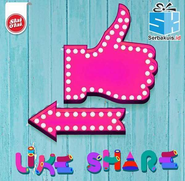 Kuis Slike Share Twice 2 Berhadiah Pulsa 1 Juta
