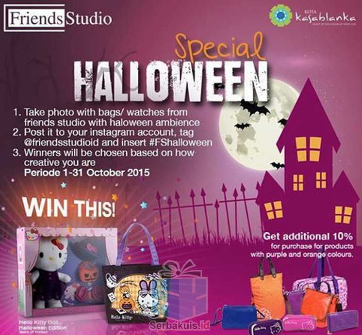 Promo Friends Studio Berhadiah Doll & Tas Hello Kitty Halloween Edition