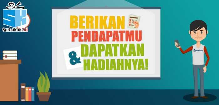 Survey Pricebook Berhadiah 5 Power bank & 10 Kaos