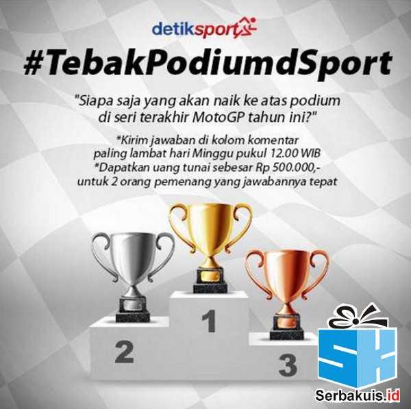 Detik Sport Tebak Podium