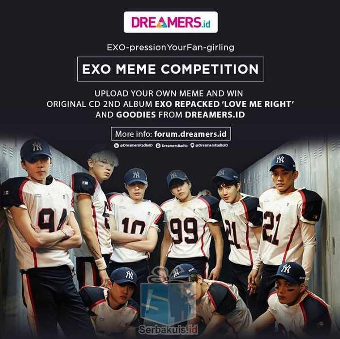 EXO Meme Competition Berhadiah CD Album Original