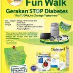 Event Diabetasol Funwalk Berhadiah Mesin Cuci, TV, Kompor, dll