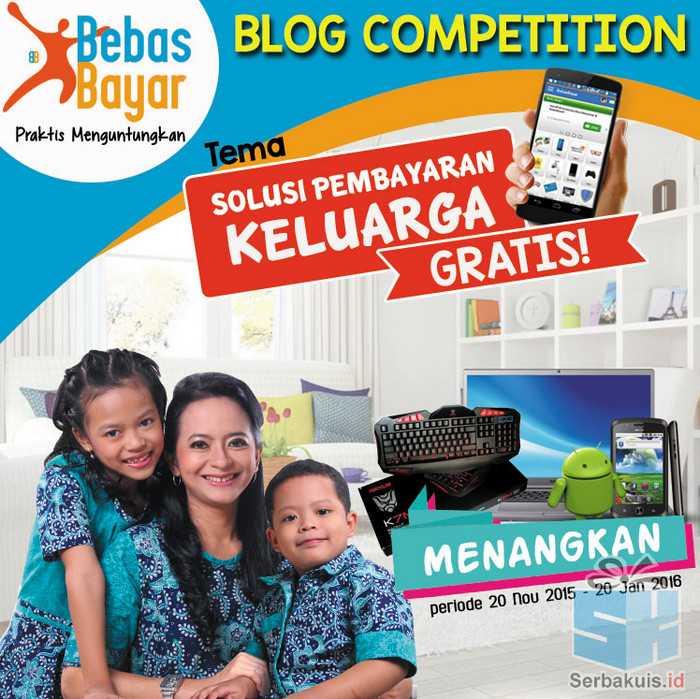 Kontes Blog BebasBayar Berhadiah Total 10 Juta